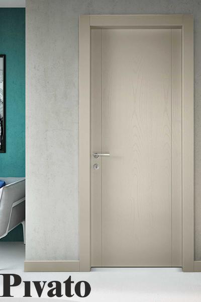porta inteporta interna in legno Pivatorna in legno Pivato