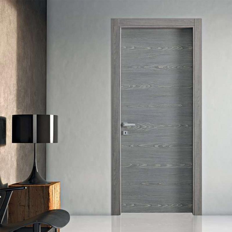 Porta interna in legno colore anice