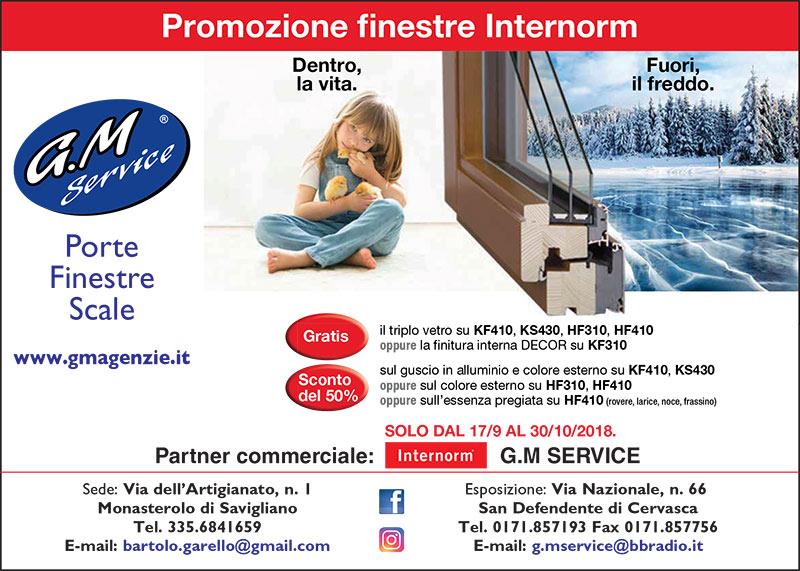 promozione finestre Internorm