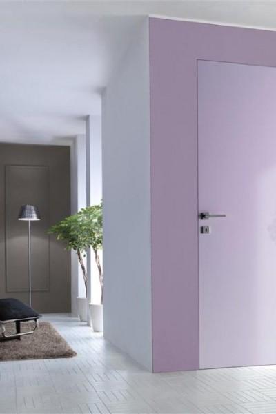 Porta interna filomuro - colore della parete