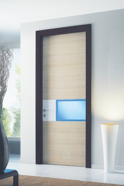 porta interna modules rovere e vetro
