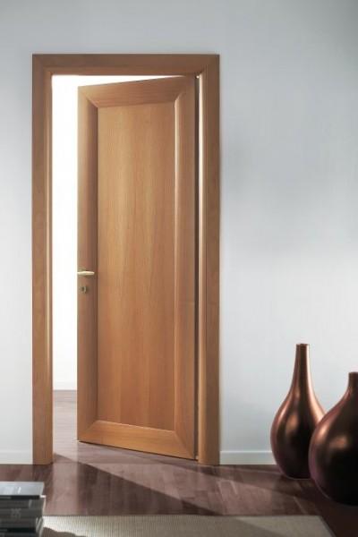 Porte interne Curve in legno listellare