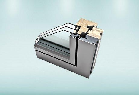Finestre e serramenti in legno e alluminio HF 310