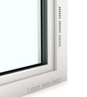 Serramenti in PVC con sistema di aerazione