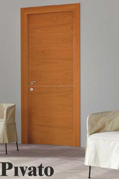 porta interna Origini in legno noce-biondo