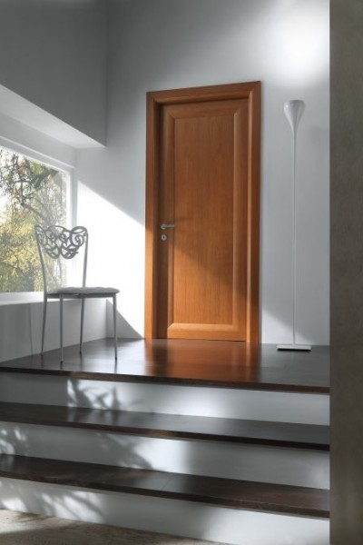 porte interne curve in rovere