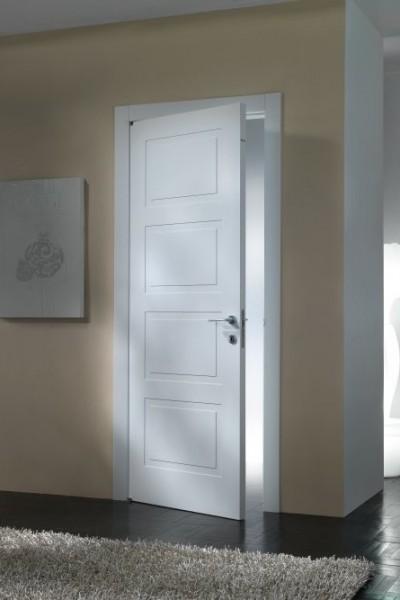 porte per interni pantografate laccate
