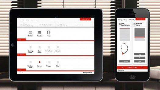 itec_smart window_app - Gestione domotica della casa