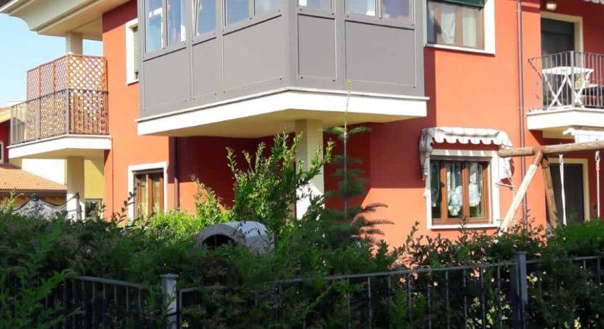 Veranda pvc e alluminio